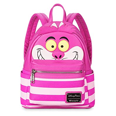 560a50ab5c Image Unavailable. Image not available for. Color  Loungefly x Disney  Cheshire Cat Alice In Wonderland Backpack Pink