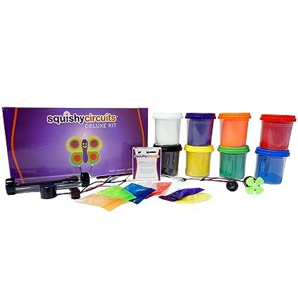 amazon com squishy circuits deluxe kit toys games rh amazon com