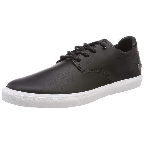 Lacoste Esparre Bl 1 Zapatillas para Hombre Negro Black Wht 312 42 EU
