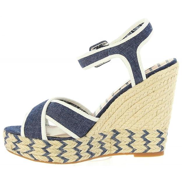 Sandales pour Femme PEPE JEANS PLS90224 WALKER 559 DK DENIM SR9Lq2S7