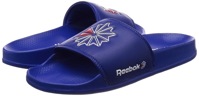 57910f457 Reebok Unisex Kids  Classic Slide Beach   Pool Shoes  Amazon.co.uk  Shoes    Bags
