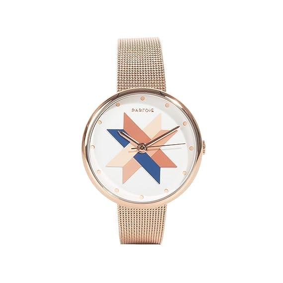 Parfois - Reloj Round - Mujeres - Tallas Única - Dorado