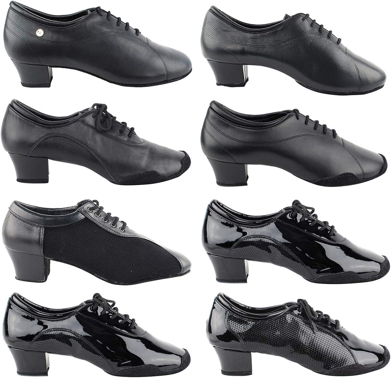 Ballroom Salsa Swing Practice Casual 50 Shades Mens 1 Low Heel Dance Shoes