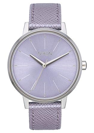 94193c692 NIXON Kensington Leather A108 - Lavender - 50m Water Resistant Women's  Analog Classic Watch (37mm