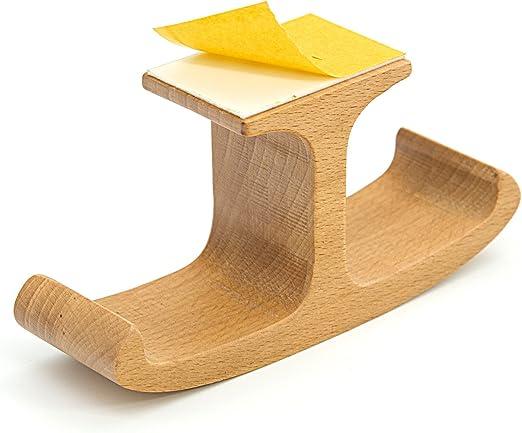 LEAPCOVER de madera debajo de la mesa de doble soporte para ...