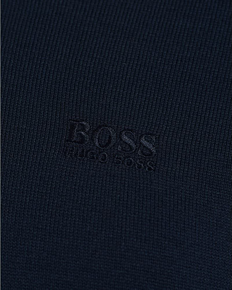 d2060fe0e BOSS Hugo Green C-Carlton Mens Jumper V Neck Dark Blue Knitted Sweater:  Amazon.co.uk: Clothing