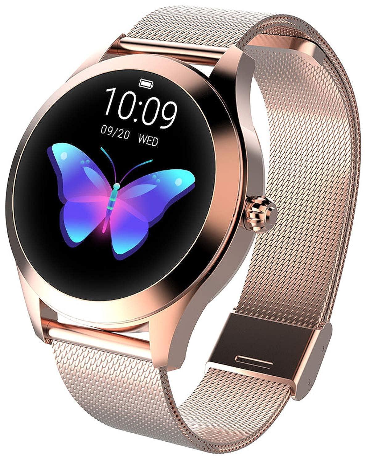 Amazon.com: Bluetooth Smartwatch for Women Calorie Counter ...