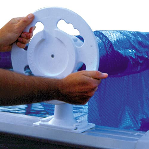 Doheny's Deluxe Above Ground Solar Pool Cover Reel System