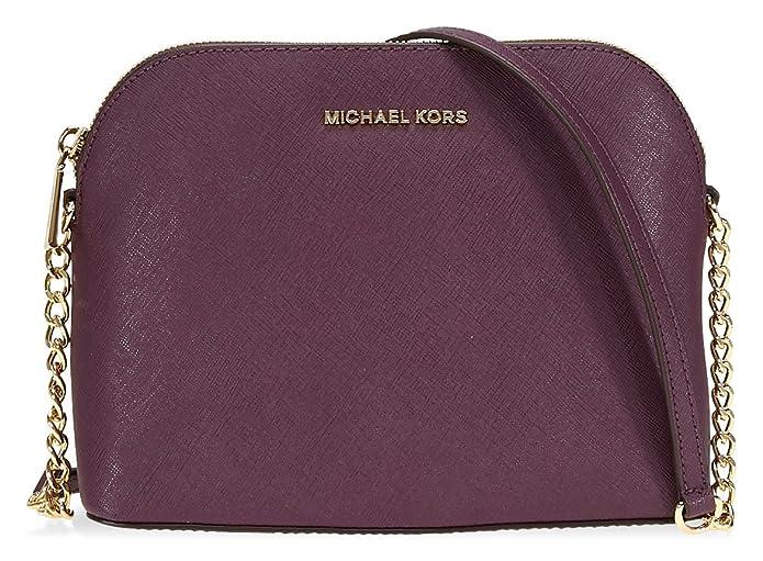 0248571a0cf8 Michael Kors Cindy Large Crossbody Bag- Damson: Handbags: Amazon.com