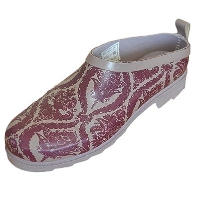 Briers WomensLadies Gardening Footwear Baroque Rubber Clogs UK