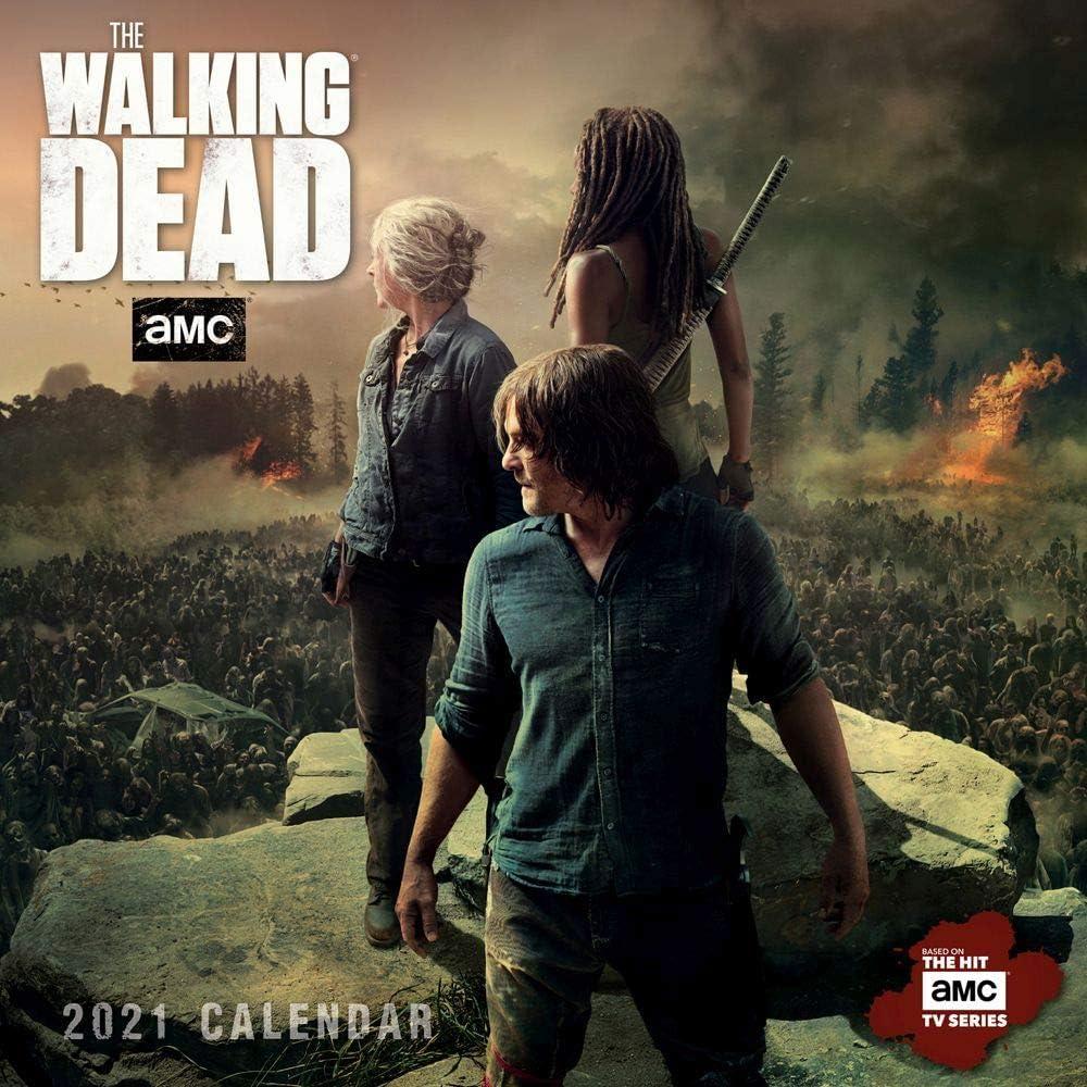Sellers Publishing, 2021 Walking Dead Mini Wall Calendar