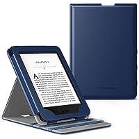 MoKo Kindle Paperwhite Case - Copertura di Vibrazione Verticale Custodia per Amazon Nuovo Kindle Paperwhite (Adatto Tutte le versioni 2012, 2013, 2015 e 2016), Indaco