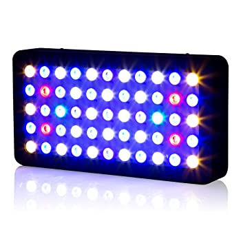 Led Aquarium Light, Roleadro 165W Dimmable Coral Reef Light