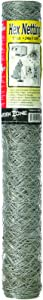 Garden Zone 20-gauge 2-Inch Galvanized Hex Netting 24-inch x 50-feet