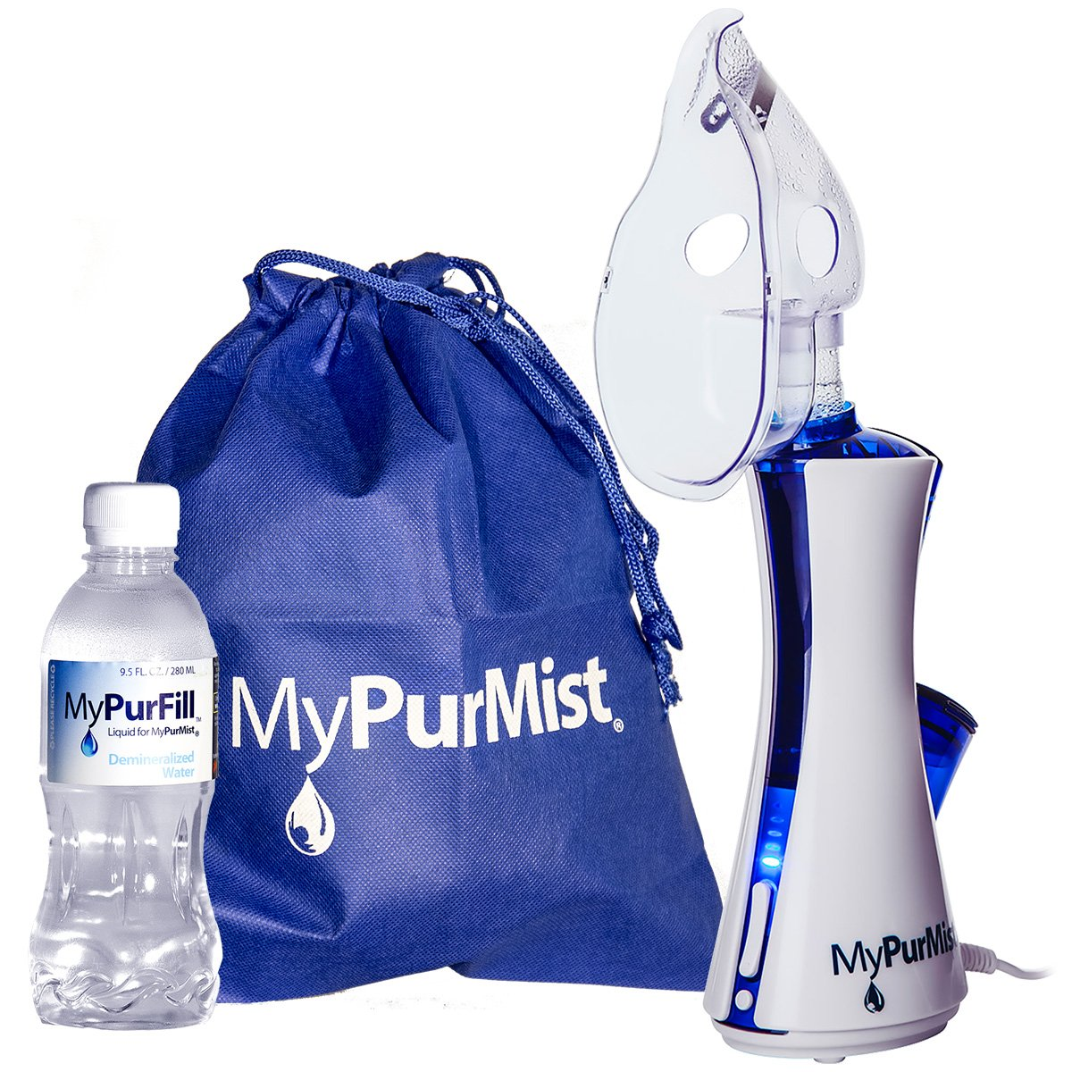 MyPurMist Handheld Personal Steam Inhaler and Vaporizer -- Classic Kit - retail box by MyPurMist