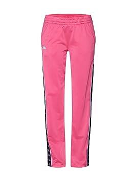 Kappa Elvira W Pantalones de chándal carmine rose: Amazon.es ...