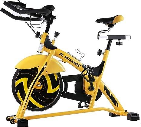 MaxKare - Bicicleta magnética de Ciclismo para Interior con ...