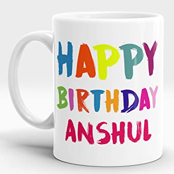 LASTWAVE Happy Birthday Gift For Anshul 2 Best Him