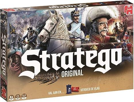 Stratego Original Niños y Adultos Estrategia - Juego de Tablero (Estrategia, Niños y Adultos, 45 min, Niño, 8 año(s), Holandés): Amazon.es: Juguetes y juegos