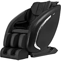 Osaki OS-Apollo Full Body L-Track Massage Chair w/ 3 Stage Zero Gravity Recline, Space-Saving, Foot Roller Massage, Heating Therapy, Whole Body Stretch Massage