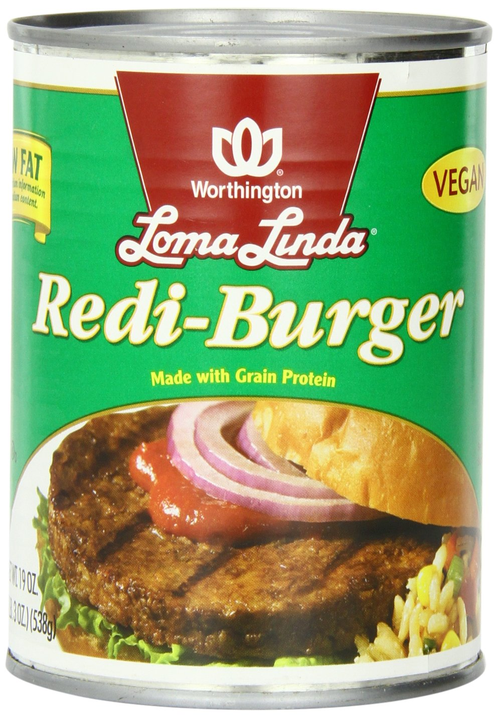 Amazon loma linda redi burger low fat 19 ounce cans pack of amazon loma linda redi burger low fat 19 ounce cans pack of 12 vegetarian meat substitutes grocery gourmet food forumfinder Image collections