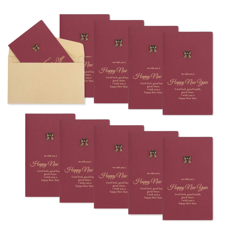 meravigliosi biglietti di auguri Confezione da 10 biglietti di auguri di Natale con buste figlia moglie perfetti come regalo di Natale per famiglia biglietti di auguri figlio e amici marito
