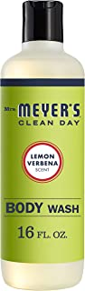 product image for Mrs. Meyer's Clean Day Moisturizing Body Wash, Cruelty Free and Biodegradable Formula, Lemon Verbena Scent, 16 oz