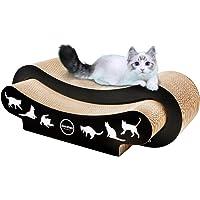 RISEPRO 2-in-1 Ultimate Cat Scratching Post, Cat Scratcher, Cat Lounge, Cat Sofa, Corrugated Cardboard