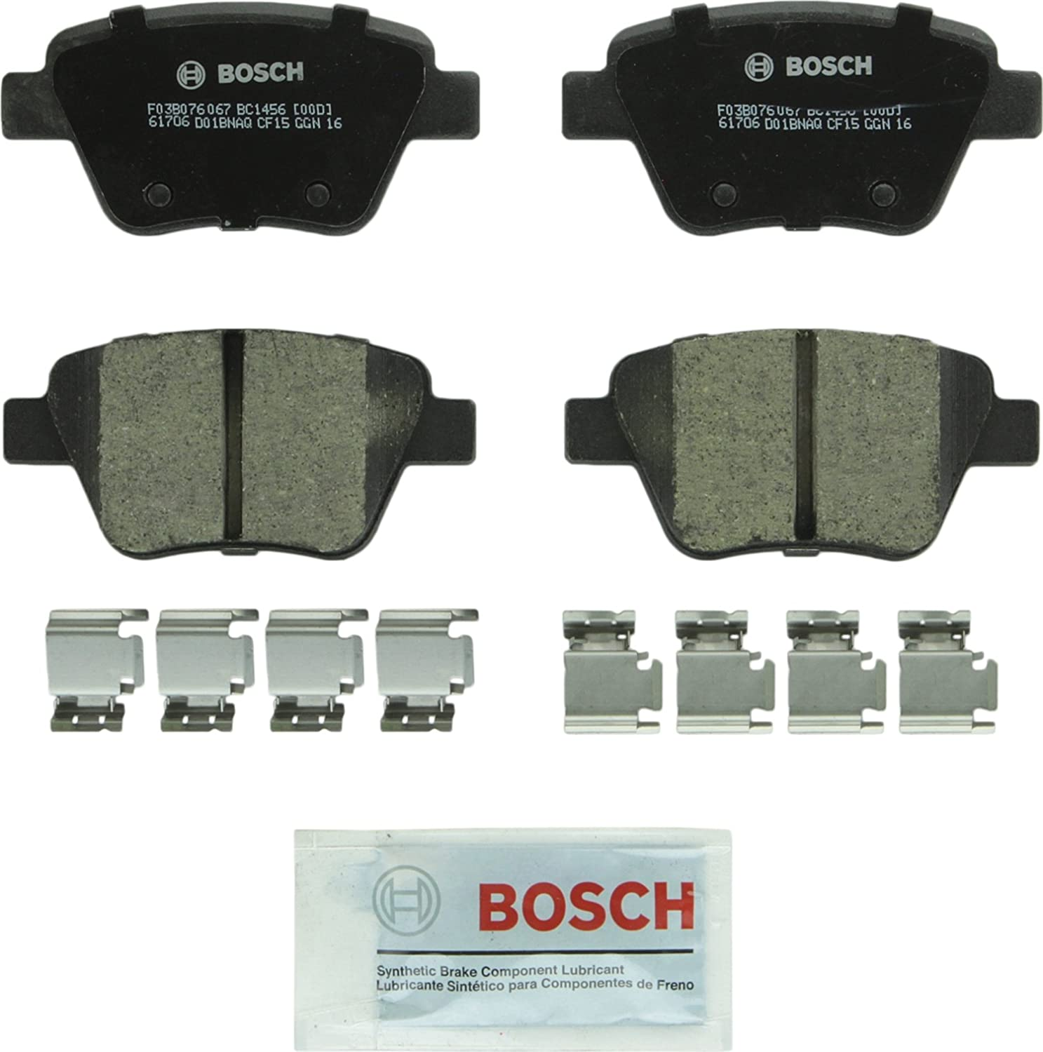 Bosch BC1456 QuietCast Premium Disc Brake Pad Set