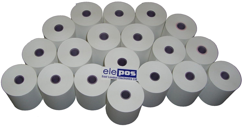 Olivetti ECR7100 - Rollo de papel térmico para calculadora de impresión y SUMMA 21 81120: Amazon.es: Industria, empresas y ciencia