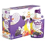 Amazon Price History for:Happy Tot Organic Stage 4 Super Foods Bananas Peaches Prunes & Coconut + Super Chia 4.22 Ounce, Non-GMO, Gluten Free, 3g of Fiber, Excellent source of vitamins A & C (Pack of 16)