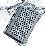 Comiso C9ブルートゥース スピーカー おしゃれな小型ポータブル無線Bluetooth スピーカー内蔵ハンズフリー通話用マイク【IPX7 防水防塵 / 12時間連続再生 】