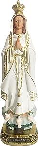 Our Lady of Fatima Statue Catholic Virgin Virgen Santa Fatima Estatua (12 Inch)