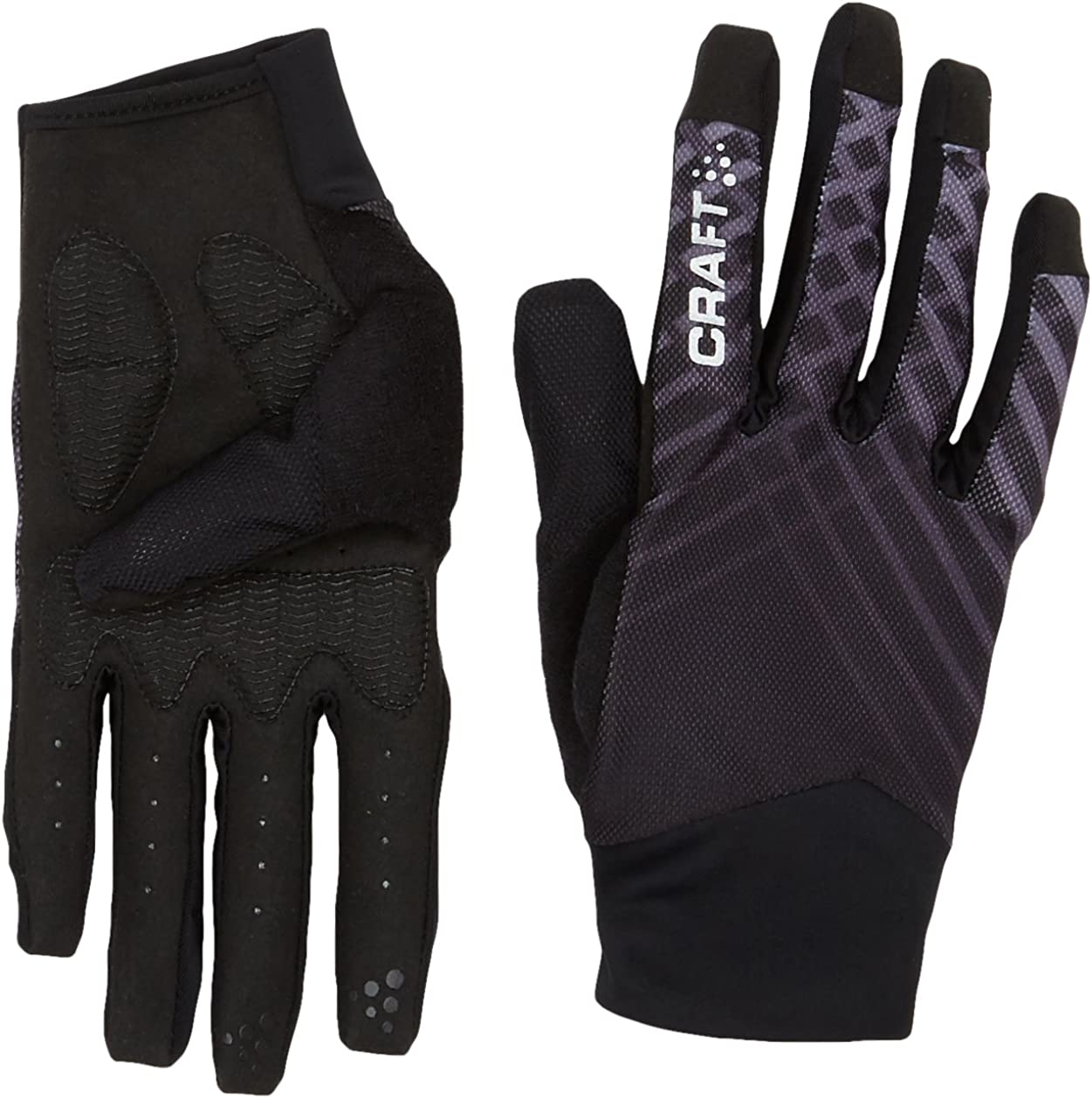 Craft Charge Running Training Bike Cycling Reflective Gloves with Gel Inserts