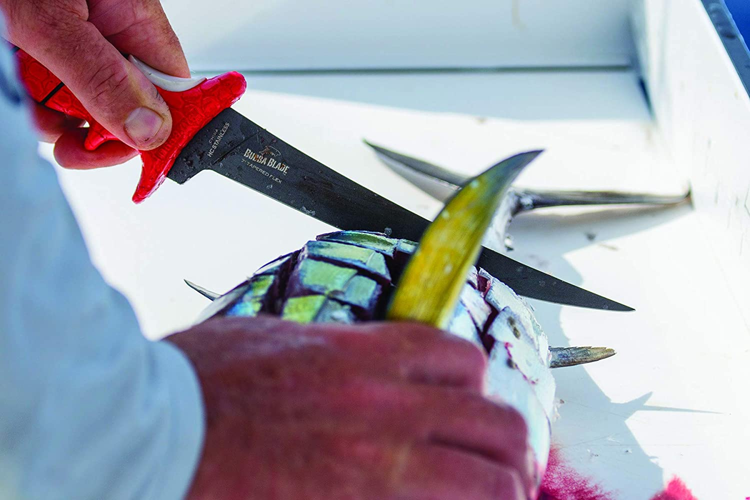 BUBBA 7 Inch Tapered Flex Fillet Fishing Knife