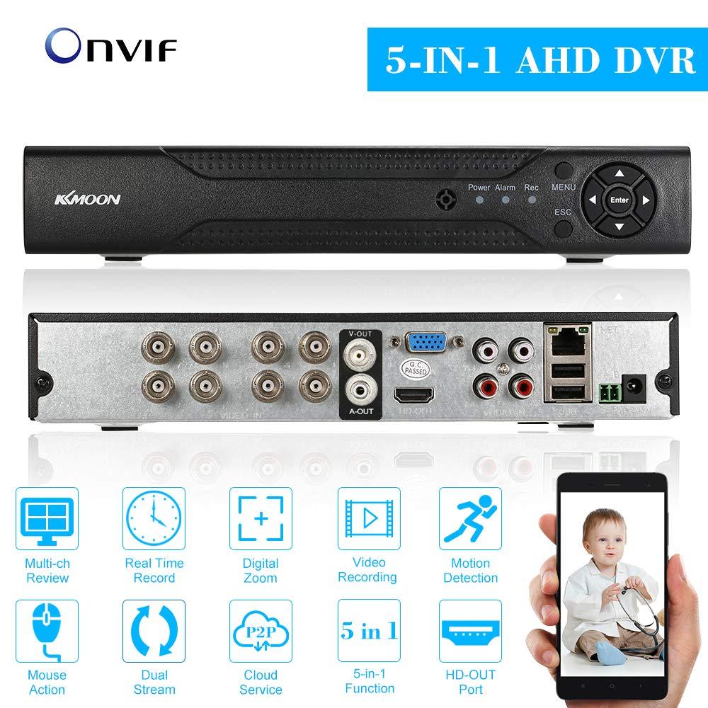KKmoon 8 Kanal 720P CCTV Netzwerk DVR Digital Video Rekorder H.264 HDMI Haussicherheitssystem Bewegungserkennung