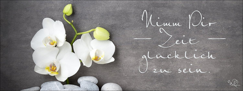 Pro-Art-Bilderpalette gla1329o Wellness Slogan I Glas-Art, bunt, 50 x 125 125 125 x 1,4 cm 96cff1