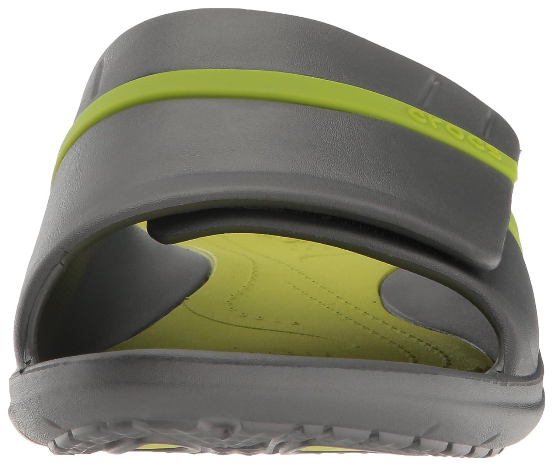 Crocs Unisex-Erwachsene Modi Sport (Graphite/Volt Slide Zehentrenner Grau (Graphite/Volt Sport Grün) 0b10e4
