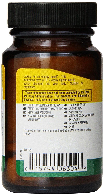 Country Life - Methyl B-12, 5000 mcg - 60 Lozenges