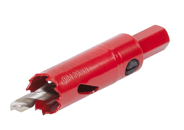 5494000 Wolfcraft 1 Lochs/äge BiM Durchmesser 76 mm inklusive Schaft und Bohrer