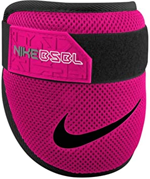 c9269aff59260 NIKE Baseball Softball Batters Elbow Guard Injury Prevention Gear (Hyper  Pink Power/Black Swoosh) Adult, Protective Gear - Amazon Canada