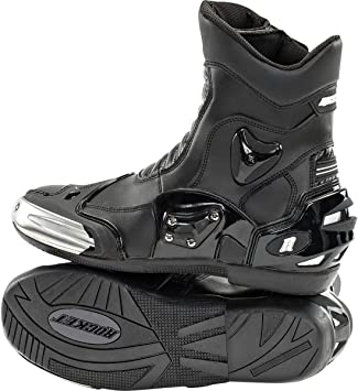 Joe Rocket Mens Super Street Black Boots 1704-1012