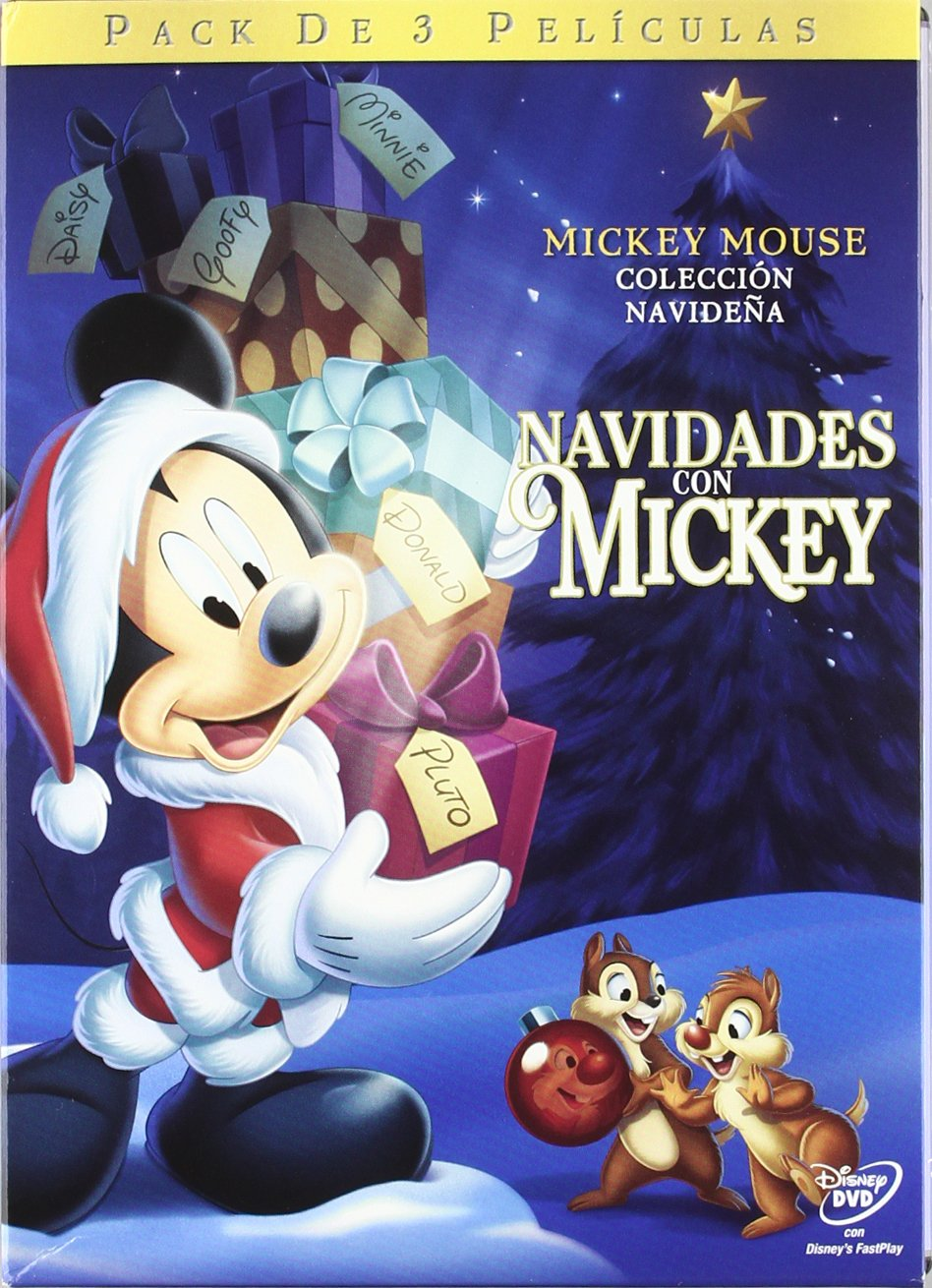 Pack Navidades Con Mickey (3 Dvd): Amazon.es: Varios: Cine y Series TV