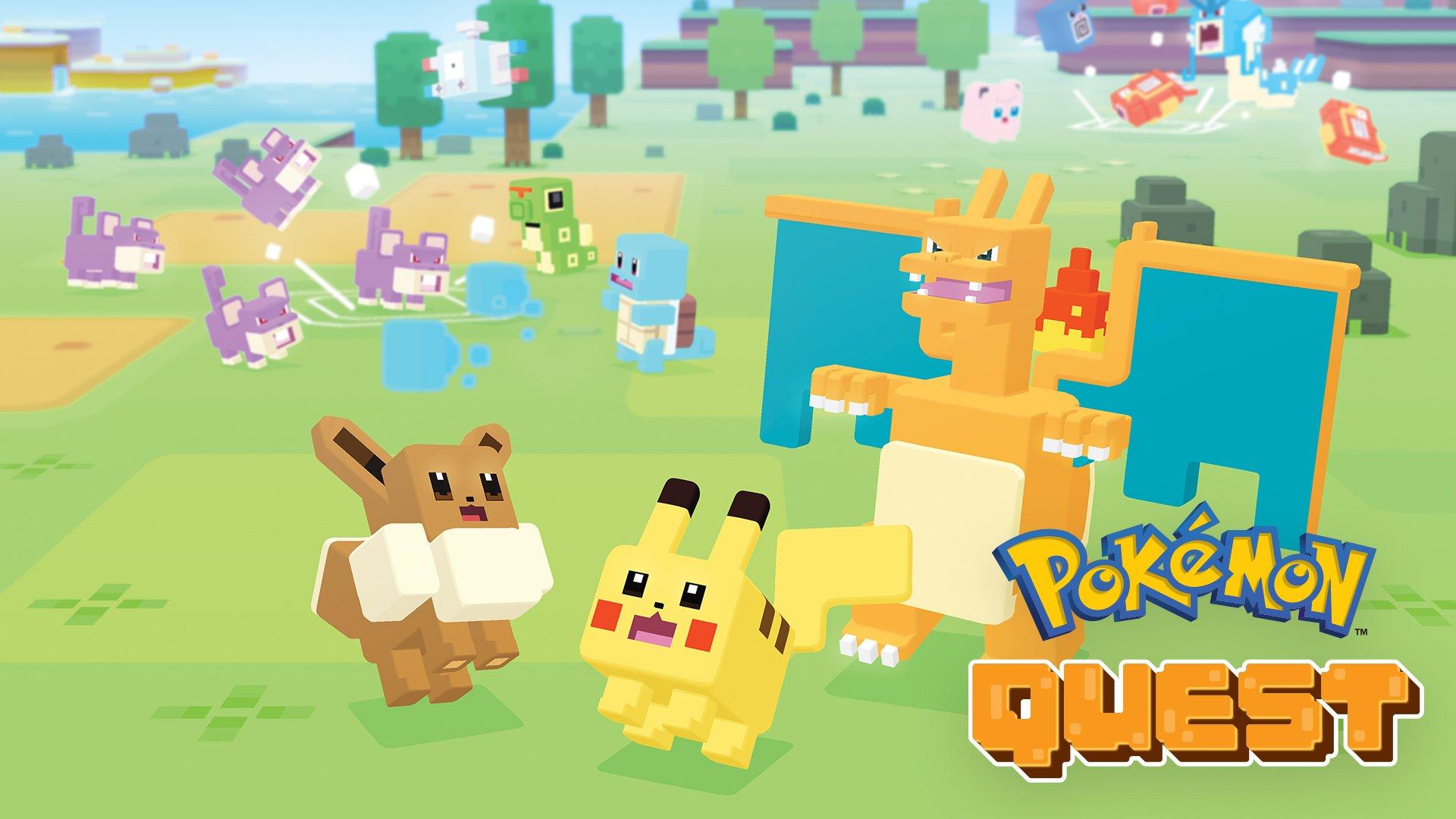 Amazoncom Pokémon Quest Nintendo Switch Digital Code