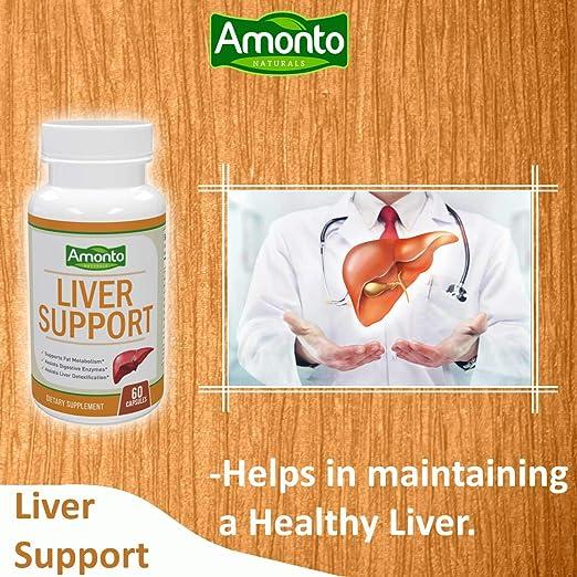 Amazon.com: Amonto Naturals Livercare/Liv. 52 para limpieza ...