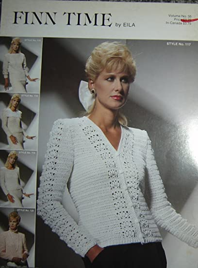 7ebf198bd675 Image Unavailable. Image not available for. Color  Finn Time By Eila  Leaflet  Volume No. 35  Crochet Sweater Patterns