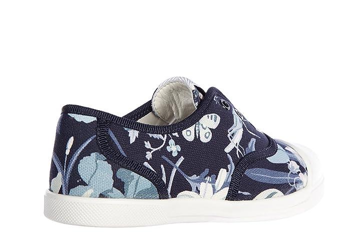 88029b9b61371 Amazon.com: Gucci girls shoes child sneakers sepang flora blu US ...