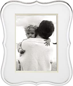"""Kate Spade New York Crown Point Silver-Plate Picture Frame, 5"""" x 7"""""""