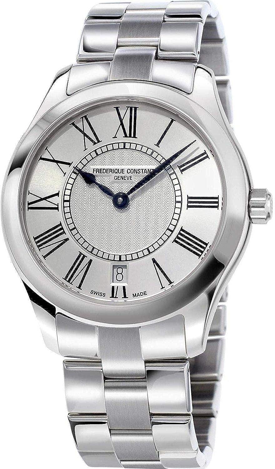 Frederique Constant Geneve Ladies Classic Quartz FC-220MS3B6B Reloj de Pulsera para Mujeres