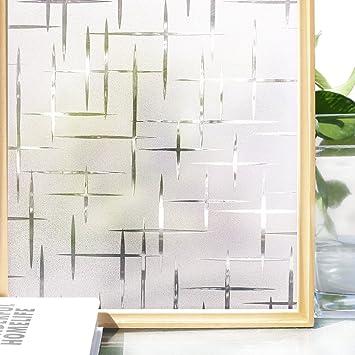 Homein Milchglasfolie Selbstklebend Fensterfolie Sichtschutz ...